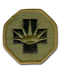 Army 8th Medical Brigade Subdued Military Patch