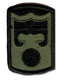 Army 92nd Infantry Brigade Subdued Military Patch