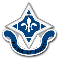 """Army 92nd Infantry Unit Crest 11.75"""" Vinyl Transfer Decal"""
