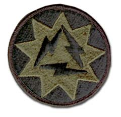 Army 93rd Signal Brigade Subdued Military Patch