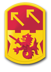 "Army 94th Air Defense Artillery Brigade 8"" Patch Decal"