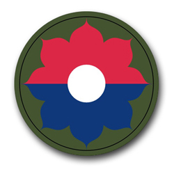 "Army 9th Infantry 10"" Patch Vinyl Transfer Decal"