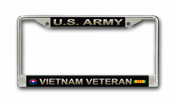 Army 9th Infantry Division Vietnam Veteran License Plate Frame