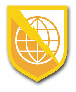 """Army 9th Signal Command 11.75"""" Patch Vinyl Transfer Decal"""