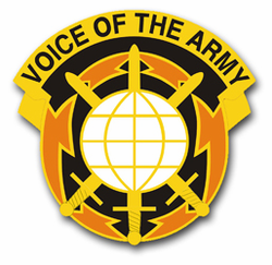 "Army 9th Signal Command Unit Crest 10"" Vinyl Transfer Decal"