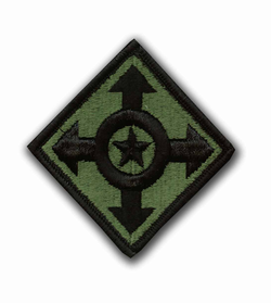 Army Adjuntant General Command Subdued Military Patch