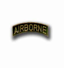 Army Airborne Tab Military Pin
