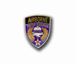 Army Airborne Troop Carrier Military Pin