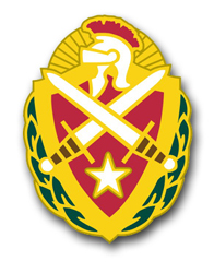 "Army Allied Forces S Europe Unit Crest 11.75"" Vinyl Transfer Decal"