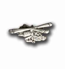 Army Apache Helicopter Military Pin