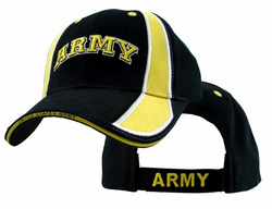 Army Arch Stripes Adjustable Ball Cap