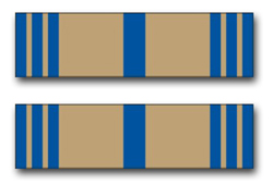 """Army Armed Forces Reserve Ribbon 5.5"""" Vinyl Transfer Decal"""