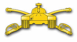 Army Armor Insignia  Vinyl Transfer Decal