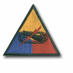 Army Armored Military Patch