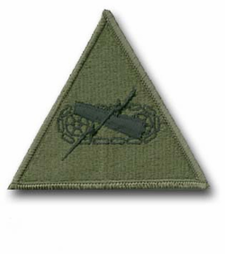 Army Armored Subdued Military Patch