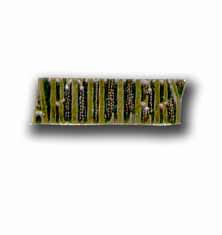 Army Artillery Military Pin