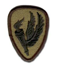 Army Aviation School Subdued Military Patch