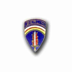 Army Berlin Military Pin