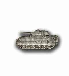 Army Bradley M2 A1 Tank Military Pin