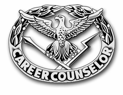 "Army Career Counselor Badge 11.75"" Vinyl Transfer Decal"