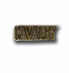 Army Cavalry Military Pin