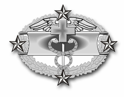 "Army Combat Medical Fifth Award 5.5"" Vinyl Transfer Decal"