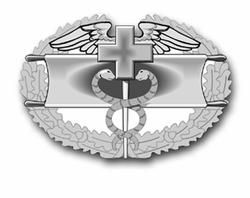 """Army Combat Medical First Award 5.5"""" Vinyl Transfer  Decal"""