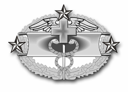 "Army Combat Medical Fourth Award 11.75"" Vinyl Transfer Decal"