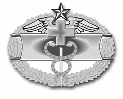 "Army Combat Medical Second Award 3.8"" Vinyl Transfer Decal"