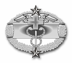 "Army Combat Medical Third Award 3.8"" Vinyl Transfer Decal"