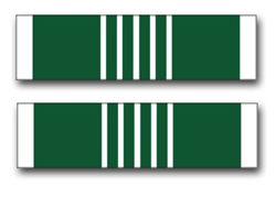 "Army Commendation Ribbon 8"" Vinyl Transfer Decal"