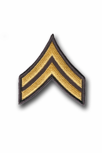 Army Corporal Chevron Patch (Pair)