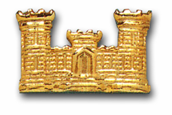 Army Corps of Engineers Military Lapel Pin