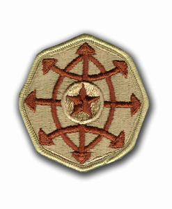 Army Criminal Investigations Command Desert Military Patch