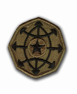 Army Criminal Investigations Command Subdued Military Patch