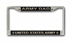 "Army ""Dad"" License Plate Frame"