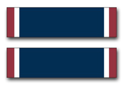 """Army Distinguished Service Cross Ribbon 5.5"""" Vinyl Transfer Decal"""