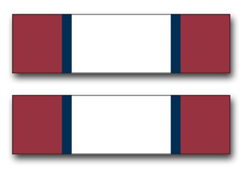"Army Distinguished Service Ribbon 3.8"" Vinyl Transfer Decal"