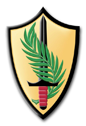 """Army Element Central Command 3.8"""" Patch Vinyl Transfer Decal"""