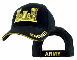 Army Engineer Corp Adjustable Ball Cap