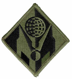 "Army Engineer Corps 3"" Subdued Military Patch"