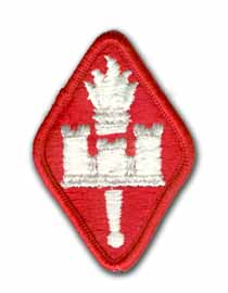 Army Engineering Center & School Military Patch