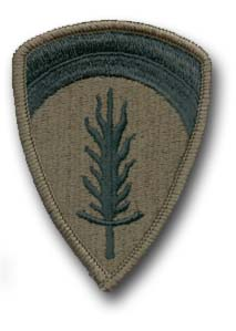 Army Europe Subdued Military Patch