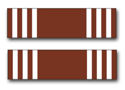 "Army Good Conduct Ribbon 5.5"" Vinyl Transfer Decal"