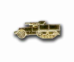Army Half- Track Military Pin