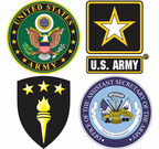Army Headquarters Decals