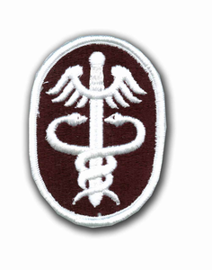 Army Health Services Command Military Patch