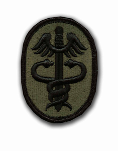 Army Health Services Command Subdued Military Patch