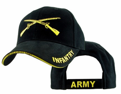 Army Infantry Crossed Rifles Adjustable Ball Cap
