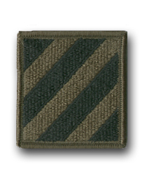 Army Infantry Division Subdued Military Patch
